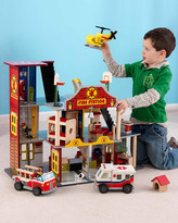 Kid Kraft Deluxe Fire Rescue Set