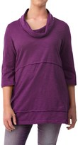 Neon Buddha Under the Sun Tunic Shirt - Cowl Neck, 3/4 Sleeve (For Women)