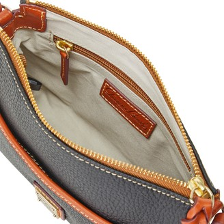 Dooney & Bourke Pebble Grain Ginger Crossbody
