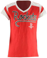 5th & Ocean Houston Rockets Contrast Slub T-Shirt, Girls (4-16)