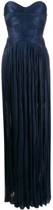 Maria Lucia Hohan Saida corseted plisse dress