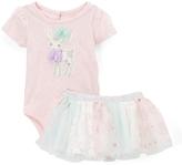 Baby Starters Pink Deer Bodysuit & Tutu - Infant