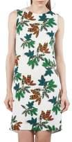 Akris Punto Tropical Print Shift Dress