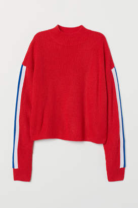 H&M Turtleneck Sweater - Red