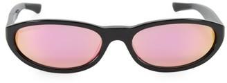 Balenciaga 59MM Rectangular Narrow Sunglasses