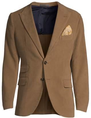 Eleventy Single-Breasted Cashmere-Blend Jacket