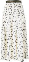 Roksanda Moraya floral print skirt