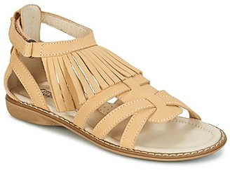 Citrouille et Compagnie RAVIPE girls's Sandals in Beige