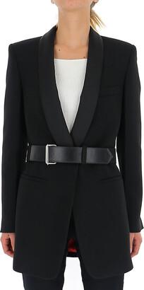 Philosophy di Lorenzo Serafini Belted Tuxedo Blazer