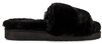 Apparis Jasmine Faux Fur Slipper
