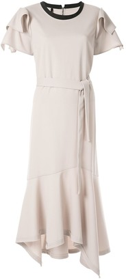 Taylor Adorn ruffled dress