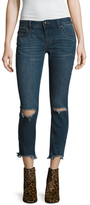 Free People Jean Destroyed Skinny Jean