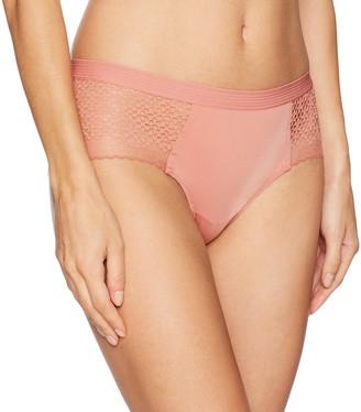 DKNY Women's Sheer Lace Garter W/Panty