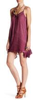 En Creme Crinkle Dye Strappy Dress