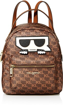 Karl Lagerfeld Paris womens AMOUR MONOGRAM BACKPACK