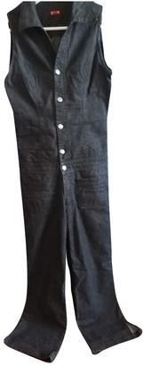 GUESS Black Denim - Jeans Jumpsuit for Women Vintage