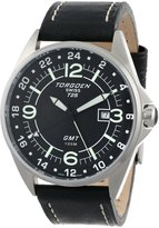 Torgoen Swiss Men's T25102 T25 GMT Stainless-Steel Date Aviation Watch