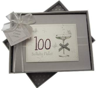 100th Birthday, Small Photo Album, Coupé Glass