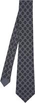 Bottega Veneta Dot-print herringbone tie