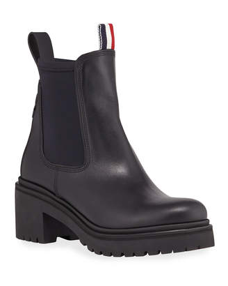 Moncler Vera Stivale Leather Boots