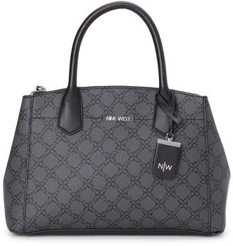 Nine West Jet Black Kismet Satchel
