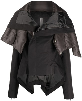 Rick Owens Oversize Hooded Jacket