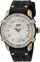 Elini Barokas Women's ELINI-20005D-RG-02-SB Spirit Black Silicone Watch