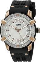 Elini Barokas Women's ELINI-20005D-RG-02-SB Spirit Silicone Watch