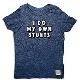 Original Retro Brand Boys' I Do My Own Stunts Tee - Big Kid
