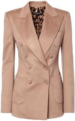 Dolce & Gabbana Cashmere Double Breast Jacket