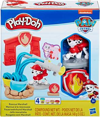 Play-Doh PAW Patrol Rescue Marshall Toy Figure Toolset with 4 Non-Toxic Colours