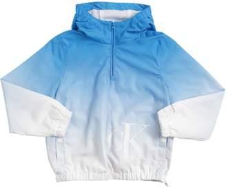 Calvin Klein Jeans Tie Dye Print Nylon Jacket