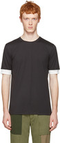 3.1 Phillip Lim Black Double Sleeve T-shirt