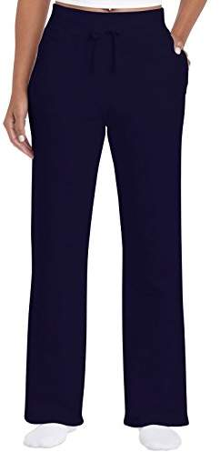 Gildan Women's Open Bottom Sweatpants