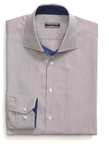Tommy Hilfiger Tailored Collection Cotton Poplin Stripe Shirt