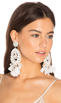 Ranjana Khan Pearl Drop Earring in White.