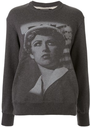 Undercover Cindy Sherman printed sweatshirt