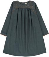 Ketiketa Marianne Embroidered Chambray Dress