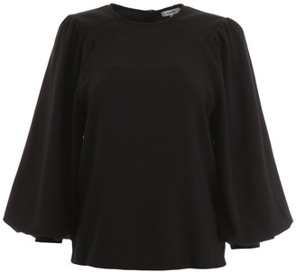 Ganni Flared Sleeves Blouse