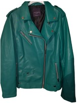 MANGO Green Jacket for Women