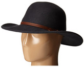 San Diego Hat Company WFH7958 Floppy Round Crown and Leather Band