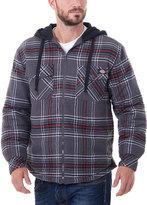 Dickies Wine Plaid Flannel Jacket - Men's Regular