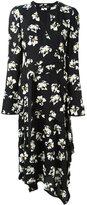 Proenza Schouler flower print wrap dress