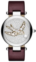 Marc Jacobs 'Dotty' Leather Strap Watch, 34mm