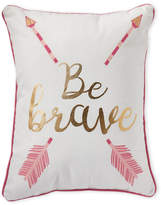 Thro Be Brave Decorative Pillow