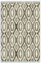 west elm Palmette Chenille Special Order Wool Kilim Rug (10-18 Week Delivery)