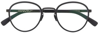 Mykita Leather Frame Glasses