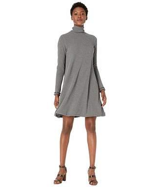 Hatley Turtleneck Dress - Charcoal
