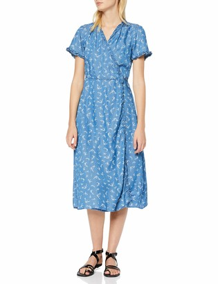 New Look Women's Harper Ditsy Wrap Dress (6139716)