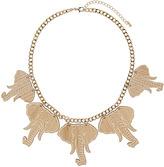 Topshop Wooden Elephant Collar